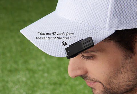 GPS Audible Golf Range Finder