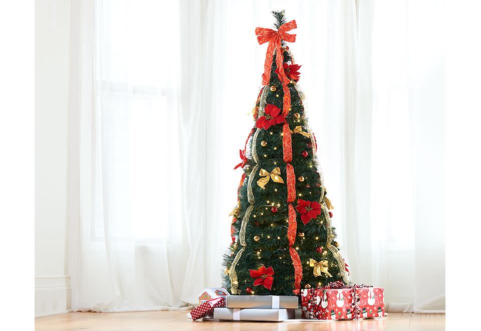 Pop-Up 6 Ft. LED Christmas Tree