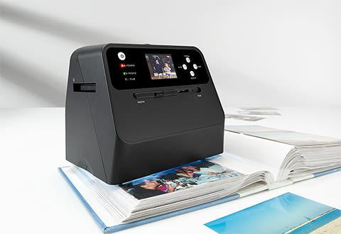 Rapid Photo Album Scanner