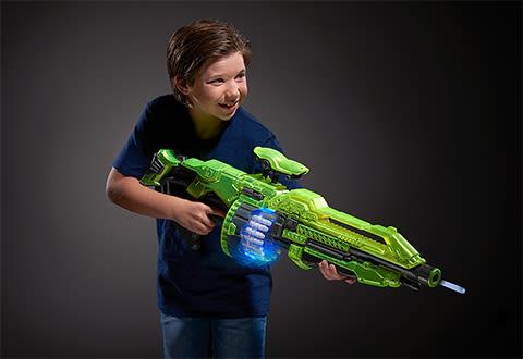 Glow-In-The-Dark Dart Blaster