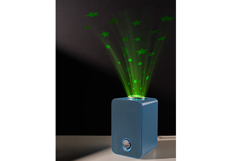 4-in-1 Air Purifier with Night Light Projector