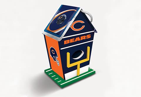 NFL Sports Fanatic Birdhouse