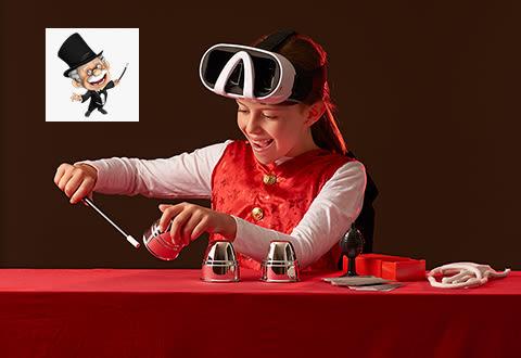 Virtual Reality Magic Set