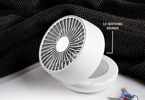 Personal Fan and Built-In Sound Machine