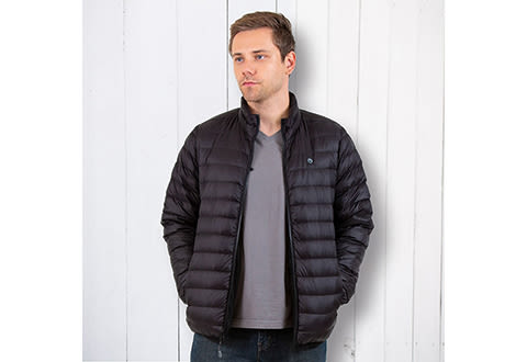Men's Heated Down Puffer Jacket