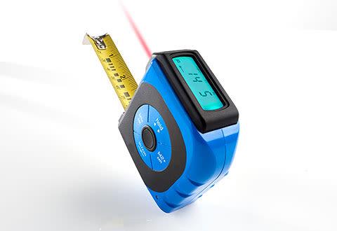 2-in-1 Digital Laser Tape Measure