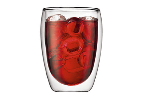 Double-Walled Hot and Cold Drinking Glasses (Set of 2)