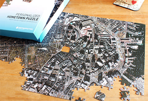 Personalized Aerial Photo Puzzle