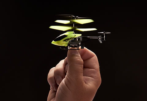 Glow-in-the-Dark Nano RC Helicopter