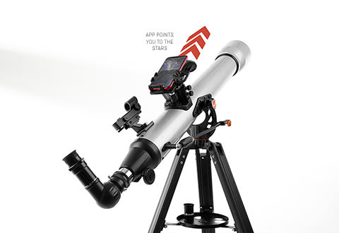 Smart Tracking Telescope
