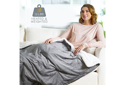 Weighted Heated Throw