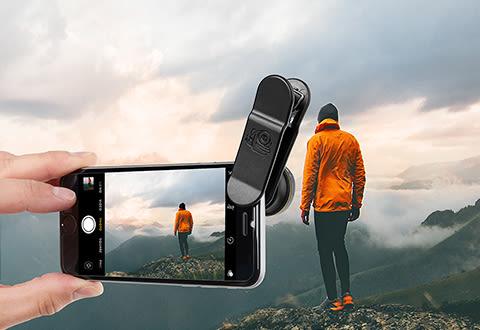 Smartphone Wide/Macro Lens Clip Kit