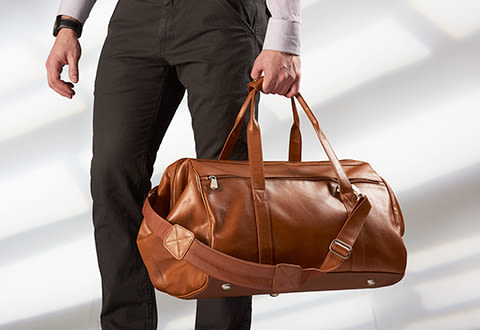 Wide Mouth Duffel Bag