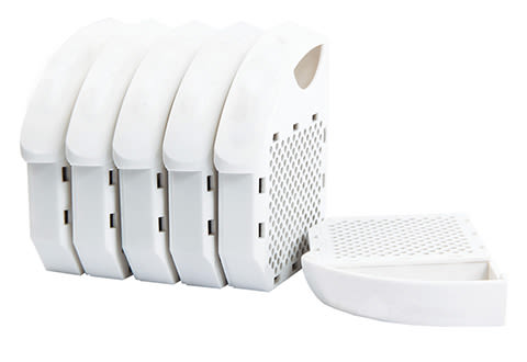 Replacement Filters for the Toilet Air Purifier (6-Pack)