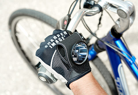Rearview Mirror Cycling Gloves