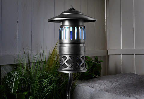 Luxe Half-Acre Flying Insect and Mosquito Trap with Stand
