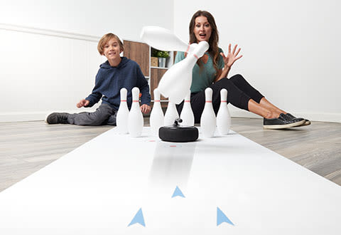 Hovering Indoor Bowling