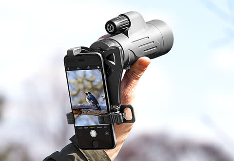 Monocular with Smartphone Adapter