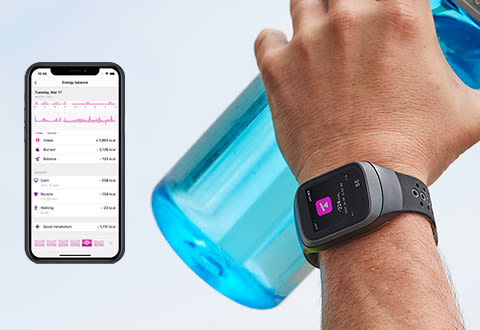 Smart Calorie Tracking Band