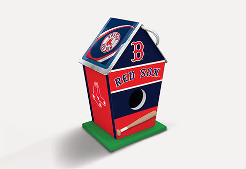 MLB Sports Fanatic Birdhouse
