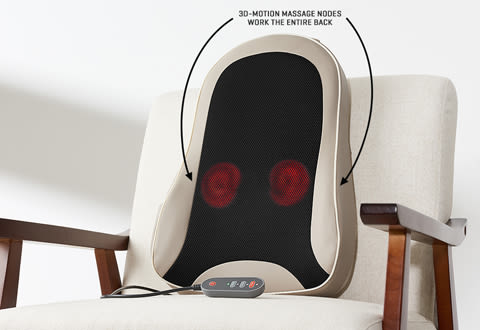 Cordless Back Massage Cushion