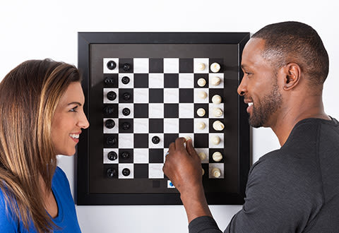 Magnetic Wall Chess