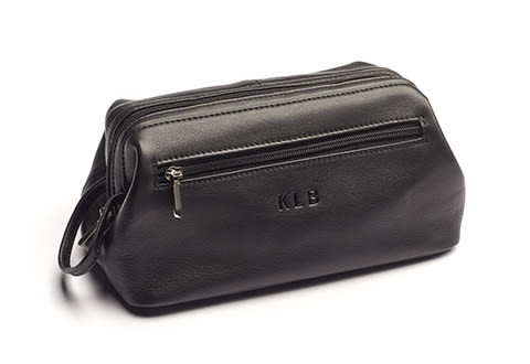 Personalized Widemouth Toiletry Bag