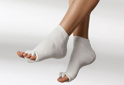 Moisturizing Toe Alignment Socks