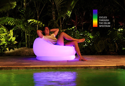 LED Inflatable Chair