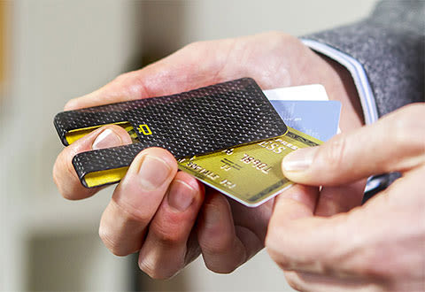 World's Lightest RFID Card and Money Clip