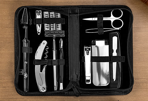 Luxury Travel Grooming Set
