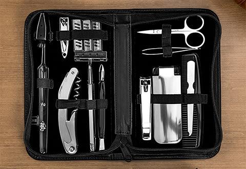 Luxury Travel Grooming Set