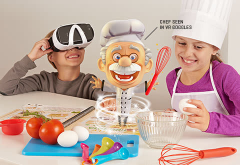 Virtual Reality Chef Kit