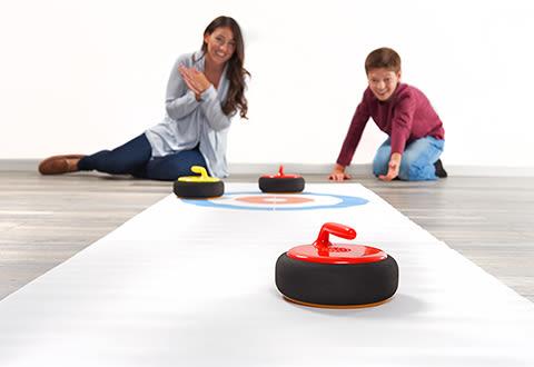 Hovering Curling Set