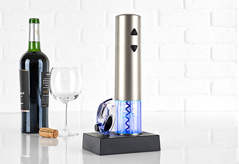 Rechargeable Wine Opener with Foil Cutter
