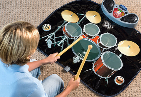 Rock 'N' Roll Electronic Drum Mat