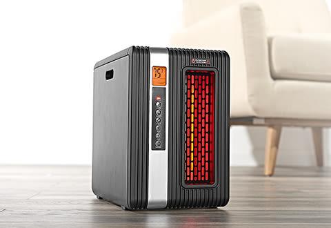 2-in-1 Heater Air Purifier