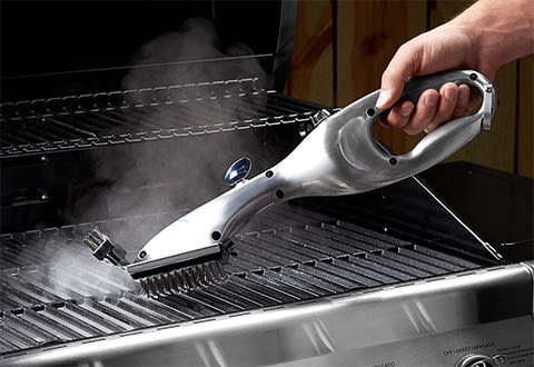 Stainless Steel Steam Cleaning Grill Brush