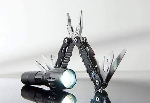 Multi-Tool and Flashlight Set