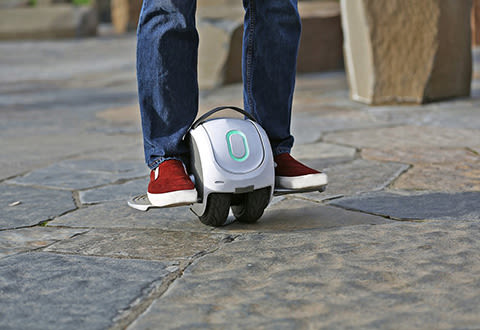 Dual-Wheel Hovercycle