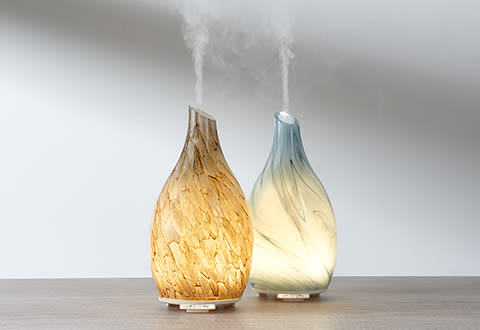 Sand-Blasted Glass Ultrasonic Aromatherapy Diffuser