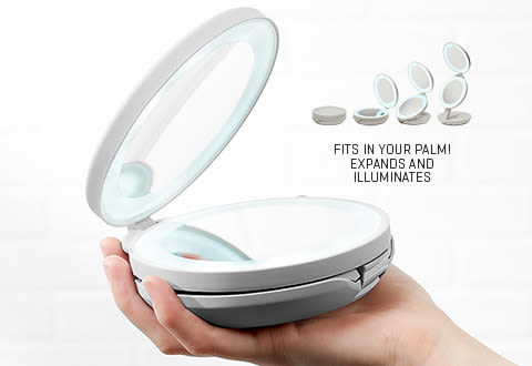 Dual Lighted LED Mirror