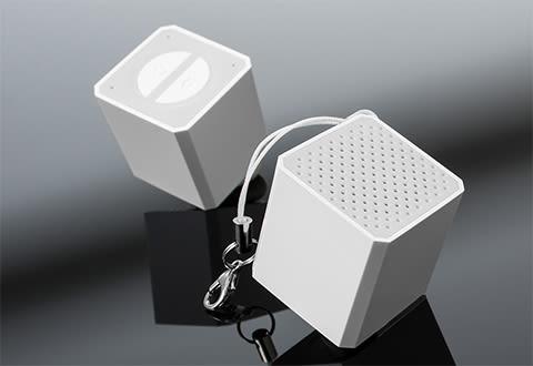 World's Smallest Bluetooth Speaker (2-Pack)
