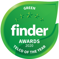Belong Finder Award 2020 - Green Telco of the Year