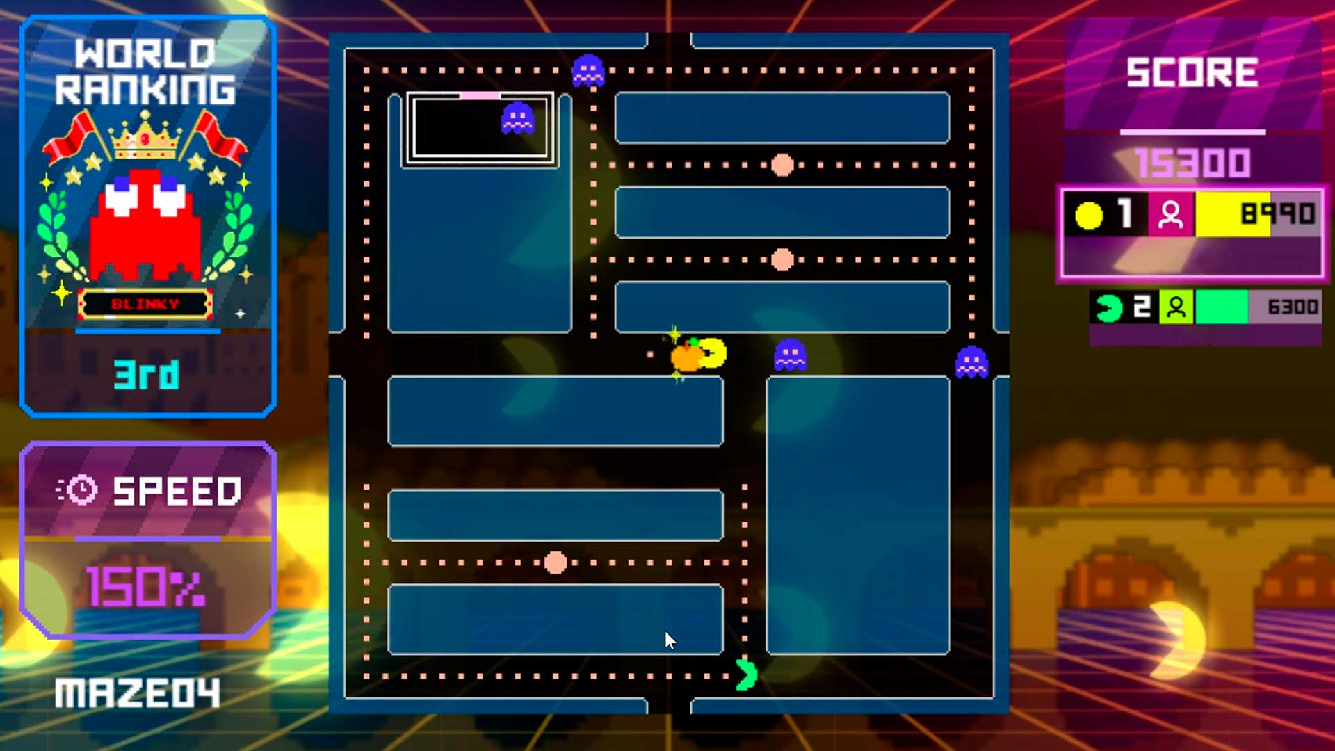 Players work together to get a high score in Endless Mode