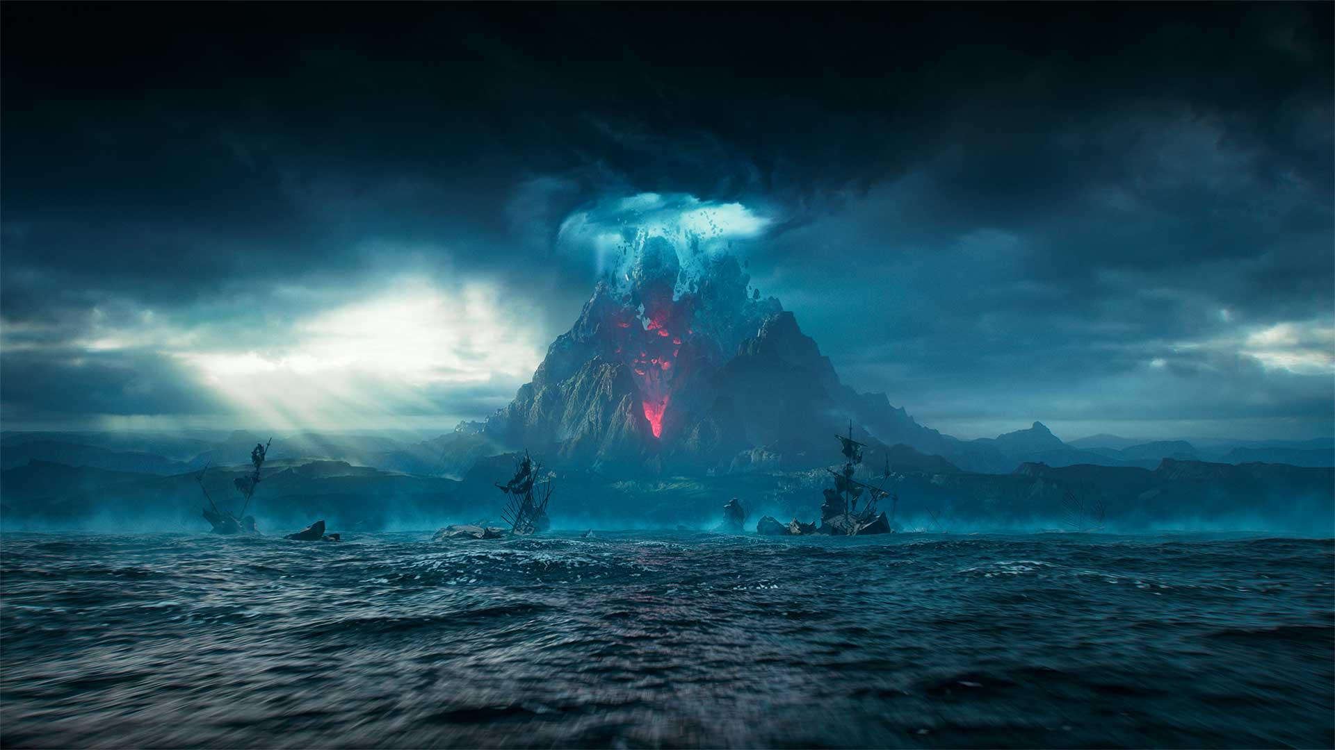 Uma amostra de New World cedido pela Amazon Games