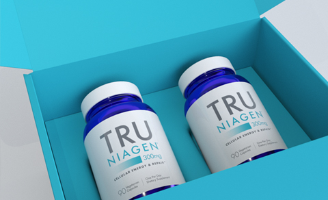 Tru Niagen 300 mg 180 count - Shipper Box