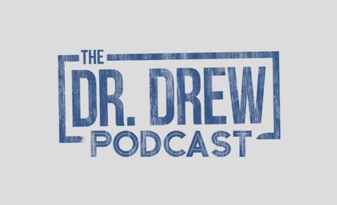 Dr. drew podcast logo