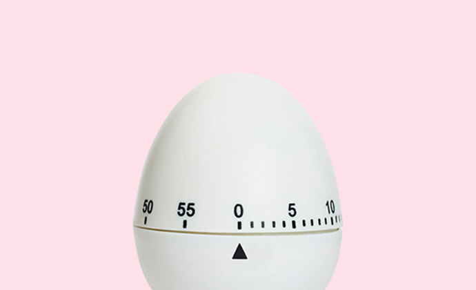 This is an egg timer set on 0.