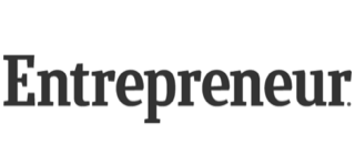 This is the logo for Entrepreneur, a reputable publication.